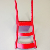 The Red Chair; $450 AUD